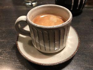 四ツ谷坊主BARのコーヒー