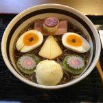 「亜呂摩」@東京お花茶屋|アイスとホットが選べて細麺と太麺も選べるビターな「珈琲拉麺」