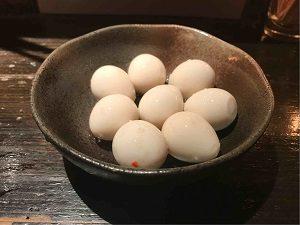 漬物BAR4328名物うずらの卵のキムチ漬け