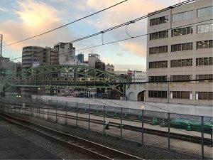 N3331から見る御茶ノ水駅から秋葉原駅へ向かう総武線