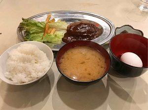 ある日の288円定食