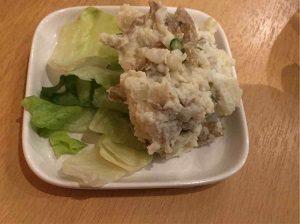 定食酒場食堂のポテトサラダ