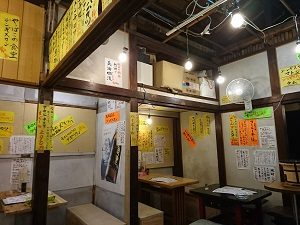 定食酒場食堂新店舗も店内は手作り感満載