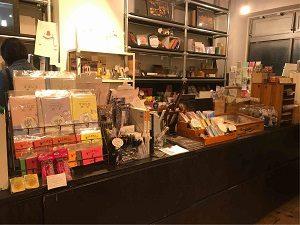 文房具カフェでは文房具の販売もしている