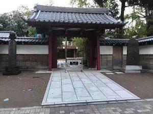 ぼうずン・コーヒーのある池袋の祥雲寺
