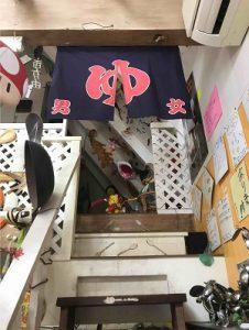 スプーンアートの二階は展示スペース