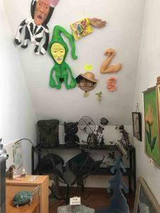 スプーンアート二階にあったオブジェ