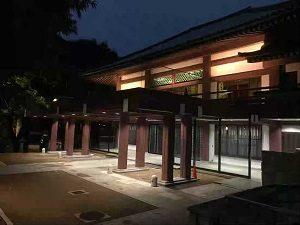 夜の祥雲寺の雰囲気も良い