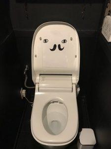 ムッチーズカフェのトイレにはおトイレさんが