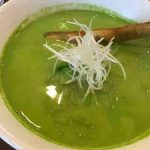 「中華ひろや」@千葉下総中山|船橋ブランドの小松菜がぎっしりな「小松菜クリーミーラーメン」